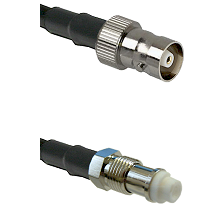 C Female on RG58C/U to FME Female Cable Assembly