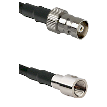 C Female on RG58C/U to FME Male Cable Assembly