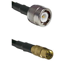 C Male on LMR100 to MMCX Female Cable Assembly
