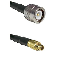 C Male on LMR100 to MMCX Male Cable Assembly