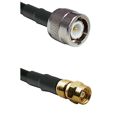 C Male on LMR100 to SMC Female Cable Assembly
