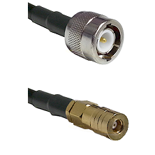 C Male on LMR100 to SSLB Female Cable Assembly