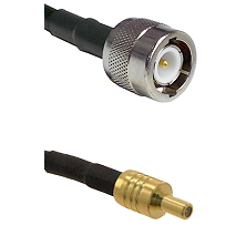 C Male on LMR100 to SSLB Male Cable Assembly