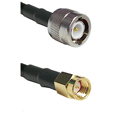 C Male on LMR100 to SSMA Male Cable Assembly