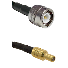 C Male on LMR-195-UF UltraFlex to SLB Male Cable Assembly