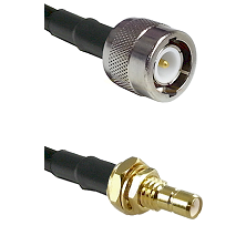 C Male on LMR-195-UF UltraFlex to SMB Male Bulkhead Cable Assembly