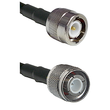 C Male Connector On LMR-240UF UltraFlex To HN Male Connector Cable Assembly