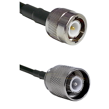C Male Connector On LMR-240UF UltraFlex To SC Male Connector Cable Assembly