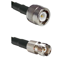 C Male Connector On LMR-240UF UltraFlex To TNC Female Connector Cable Assembly