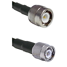 C Male Connector On LMR-240UF UltraFlex To TNC Male Connector Cable Assembly
