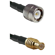 C Male on RG142 to MCX Male Cable Assembly