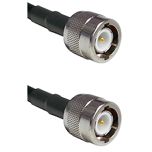 C Male on RG58C/U to C Male Cable Assembly