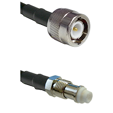 C Male on RG58C/U to FME Female Cable Assembly