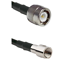 C Male on RG58C/U to FME Male Cable Assembly