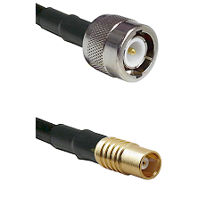 C Male on RG58C/U to MCX Female Cable Assembly