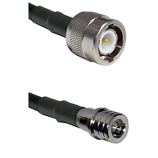 C Male on RG58C/U to QMA Male Cable Assembly