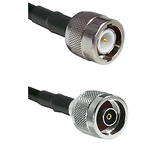 C Male on RG58C/U to N Reverse Polarity Male Cable Assembly