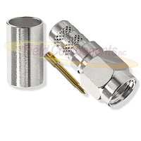 Nickel Plated SMA Male Connector for LMR240 RG8X
