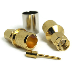 SMA Male Plug for LMR400, Belden 9913 Connectors