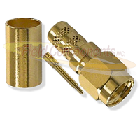 SMA Male Gold Plated Connector for LMR200 Brass 50ohm