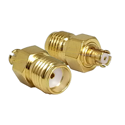SMA Female to SMP Female Adapter Gold Plated Brass 50ohm 18GHz