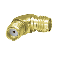 26.5GHz SMA Radius Female to Female Adapter Gold Plated Stainless Steel