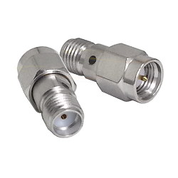 SMA Male Plug to SMA Female Jack Adapter Suco Plated Brass 50ohm