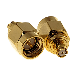 SMA Male to SMP Female Adapter Adapter Gold Plated Brass 50ohm