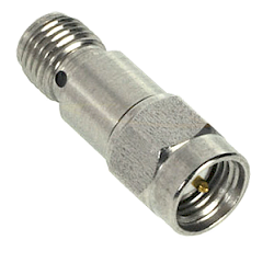 SMA Male to Female Attenuator, 3dB 2 Watts