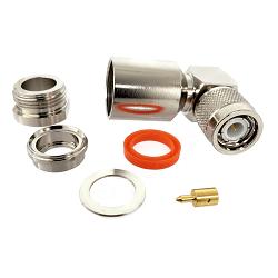 TNC Male Right Angle Plug for RG8, RG9, RG11, RG213/U , RG214, RG225/U , RG393/U Connectors