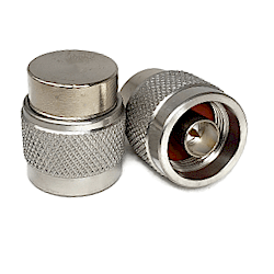 N Male Termination, 2 Watts 50ohm DC-18.0GHz Stainless Steel Passivated Adapter