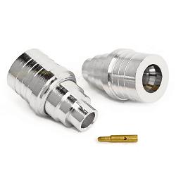 QMA Male SUCO Plated For RG402, .141 Semi-Rigid Cable Connectors