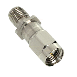 SSMA Male to Female Attenuator 1dB 50ohm 1 Watt 1dB Stainless Steel Passivated