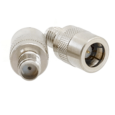 SSMA Quick Connect Male to Female Adapter Passivated Plated Stainless Steel 50ohm
