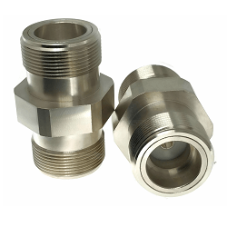 LT Female Jack to LT Female Jack Adapter Nickel Plated Brass 50ohm