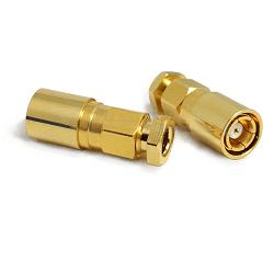SMB Female Plug for RG178, RG196 Connectors
