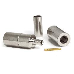 SSMB Female Plug for RG178, RG196 Connectors