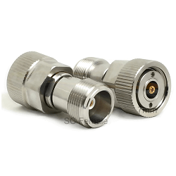 7mm to SC Female Jack Adapter Passivated Plated Stainless Steel 50ohm