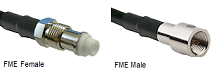FME Type RG-400 M17/128 Cable Assemblies