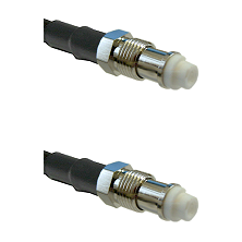 FME Female Jack To FME Female Jack Connectors LMR100 Coaxial Cable