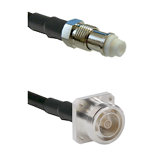 FME Female on RG142 to 7/16 4 Hole Female Cable Assembly