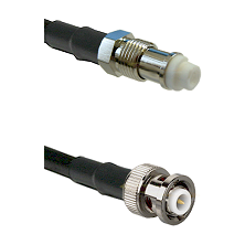 FME Female on RG142 to MHV Male Cable Assembly