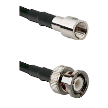 FME Male on RG142 to BNC Male Cable Assembly