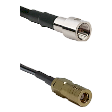 FME Male on RG400 to SLB Female Cable Assembly