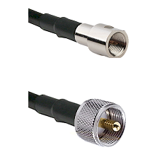 FME Male on RG400 to UHF Male Cable Assembly