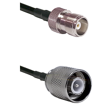 HN Female Connector On LMR-240UF UltraFlex To SC Male Connector Cable Assembly