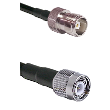HN Female Connector On LMR-240UF UltraFlex To TNC Male Connector Cable Assembly
