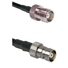 HN Female on RG214 to C Female Cable Assembly