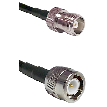 HN Female on RG214 to C Male Cable Assembly