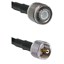HN Male on RG214 to UHF Male Cable Assembly